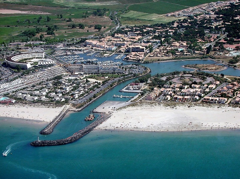 location villa marinas cap d'agde